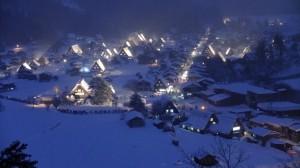 Shirakawa-go Lightup