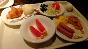 Montblanc's breakfast