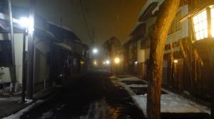 Quiet empty streets