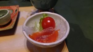 Smoked fish em.. salad?
