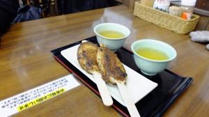 gohei-mochi (五平餅)