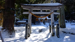 Hachiman shrine, Higurashi scene