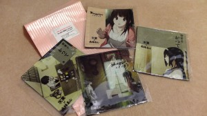Hyouka limited edition coaster only sold at 4 placed in Takayama