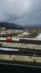 Leaving the Takayama valley