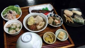 Dinner at Shimizu