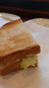 Doutor ham sandwich. You get two of these, I just ate one already