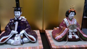 Set of china dolls