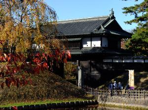 Hirosaki castle grounds entrance