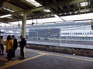 Transfering at Ichinoseki