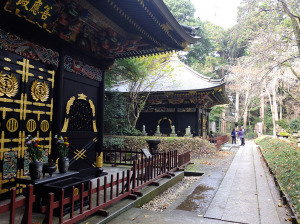 Zennoden and Kansenden, tomb for the third and second daimyo