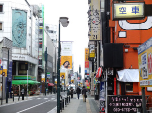 Kokubuncho, one of the main shopping streets