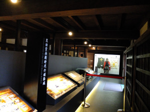 Display about Kuroda Yoshitaka, a famous strategist to Hideyoshi