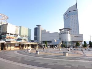 Takamatsu station front