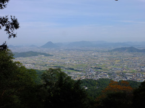 View from inner shrine