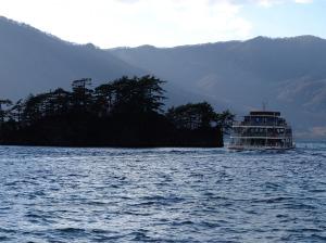 Lake tour ferry
