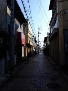 Kurashiki back street