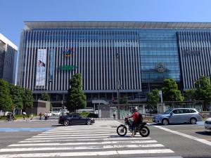 Hakata City and station