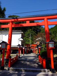 Base of the inari shrine