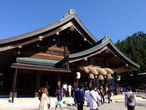 Izumo Taisha prayer hall