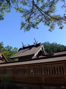Izumo Taisha inner sanctum