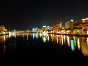 Matsue at night