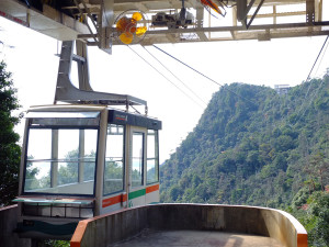 Second ropeway section